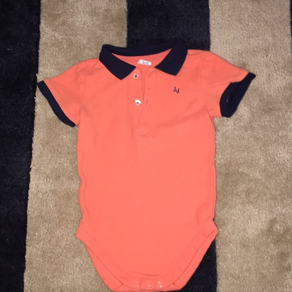 97498dabc468 Janie and Jack Other - Janie   Jack Baby boy polo bodysuit